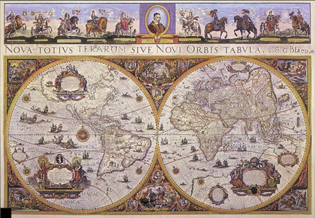 Antique World Map 2