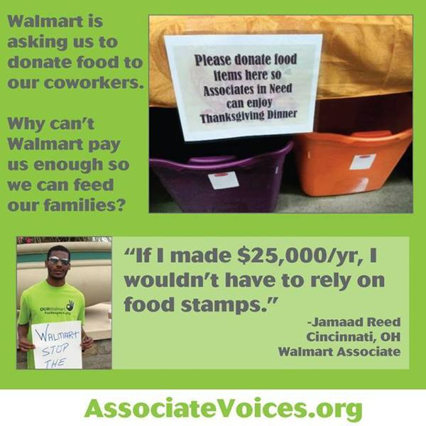Donate to Walmart