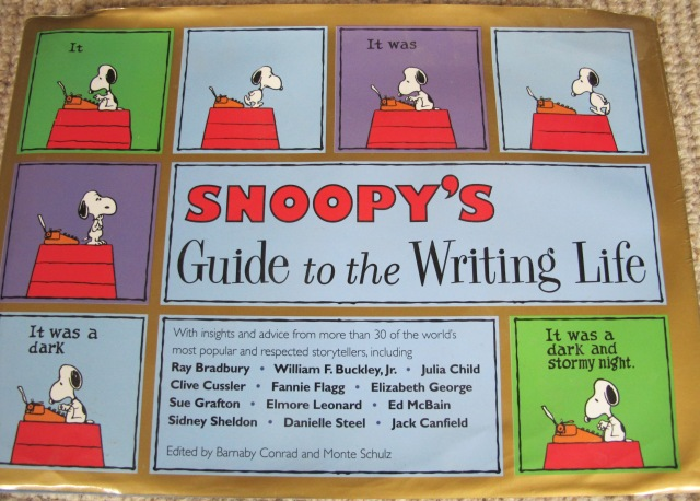 Snoopy The Writing Life