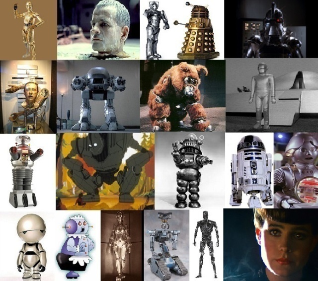 Robots Montage