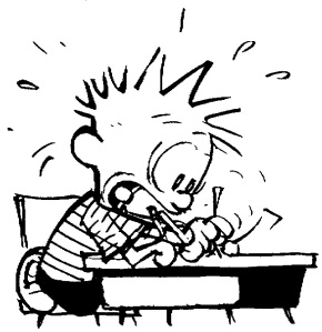 Calvin Writing